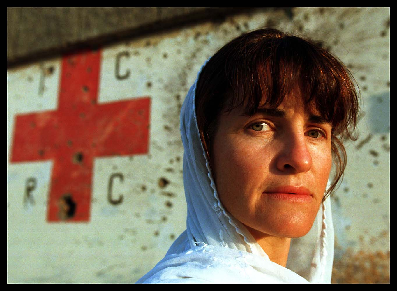 Red Cross nurse Annie Sewell, Kabul, Afghanistan